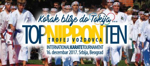 XVII međunarodni karate turnir NIPPON TOP TEN