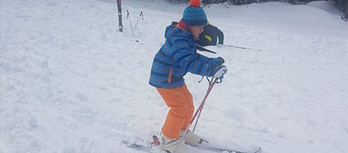 Učili smo da skijamo… i vozimo bord!