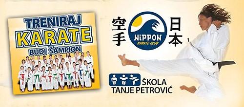 Karate škola Nippon, upis 2018.