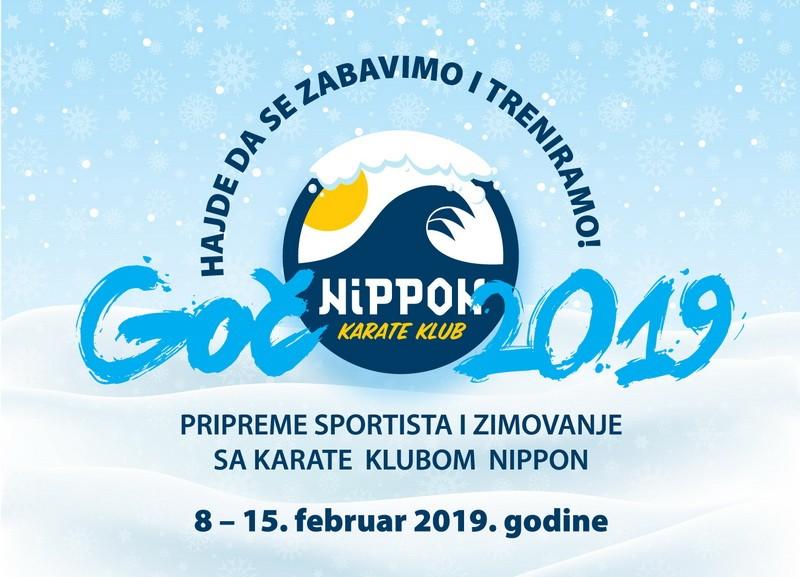 Zimovanje Karate klub Nippon 2019