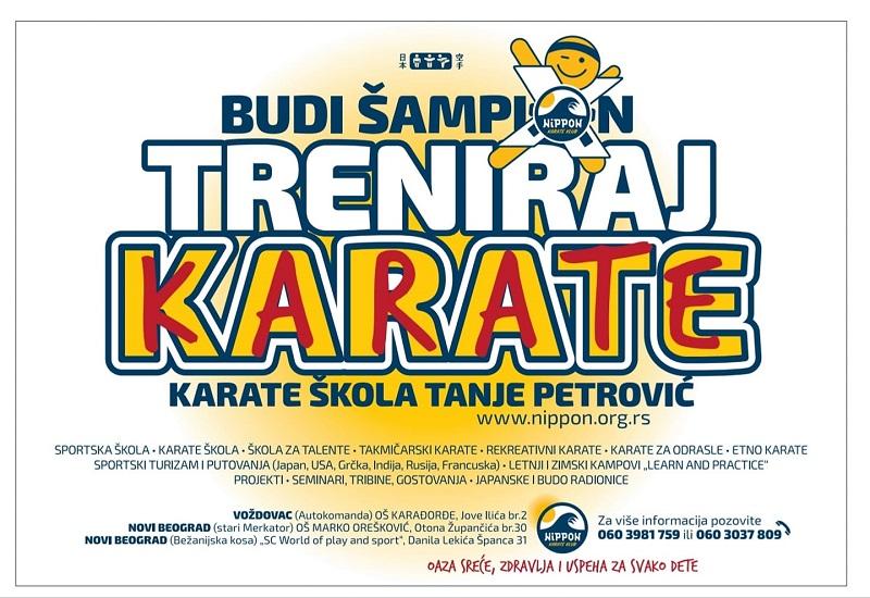 Upis karate klub Nippon